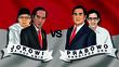 Real Count 88%, Suara Prabowo Ketinggalan 15,77 Juta