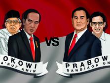 2 Hari Jelang Pengumuman KPU, Jokowi Unggul 15,6 Juta Suara