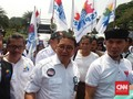 Antar Prabowo, Ahmad Dhani-Fadli Zon Kumpul Bareng Buruh