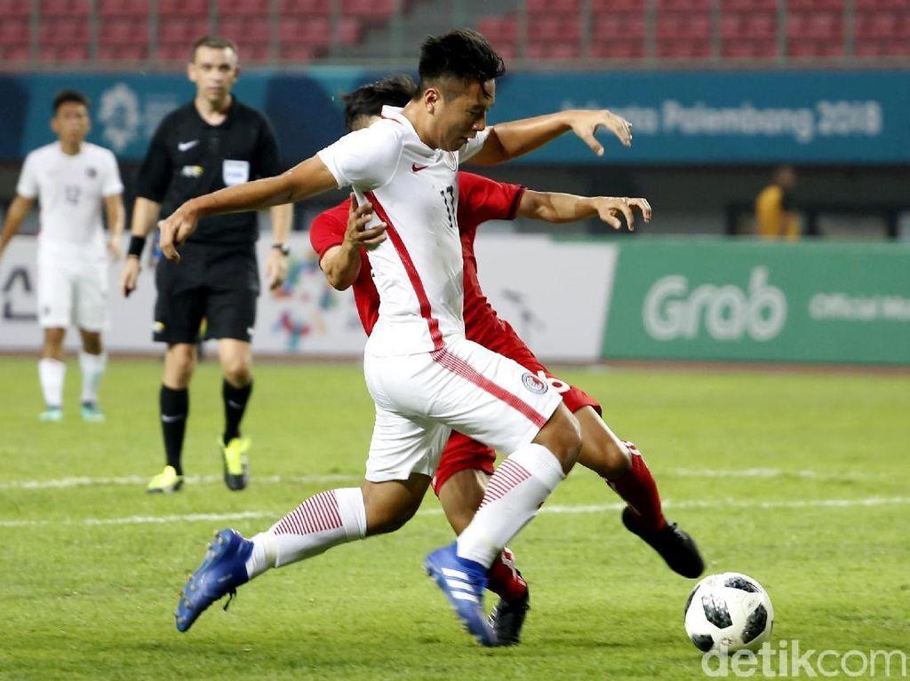 Laos sempat memperkecil ketertinggalan menjadi 1-2 di menit ke-61. Kongmathilath Phitack melesakkan gol setelah sukses menyambar bola liar hasil kemelut di kotak penalti Hong Kong.