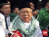Rencana Ma'ruf Amin Bertemu Rizieq Shihab Belum Terkonfirmasi