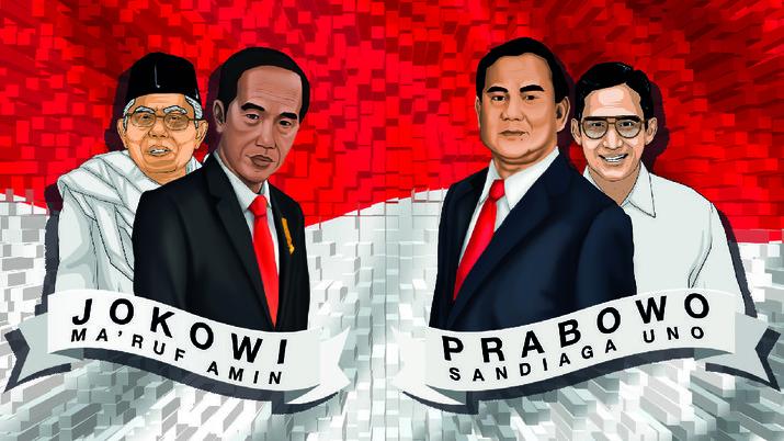 Sesuai dengan aturan pemilu, kandidat calon presiden dan calon wakil presiden harus mengumumkan harta kekayaan.