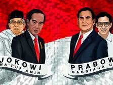 Maju Pilpres, Ini Kekayaan Jokowi-Ma'ruf dan Prabowo-Sandiaga