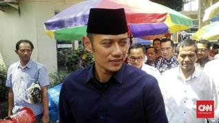 Tanpa SBY, AHY Antar Prabowo-Sandiaga Daftar ke KPU