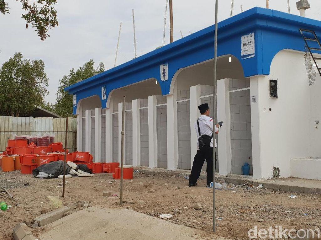 Fasilitas toilet juga ikut disiapkan (Foto: Fajar Pratama/detikcom)