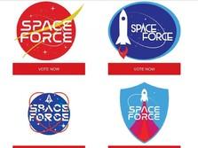 Trump Minta Pendukung Pilih Logo Angkatan Militer Antariksa