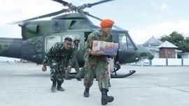 Masa Tugas Pasukan Kogasgabpad TNI di NTB Resmi Berakhir