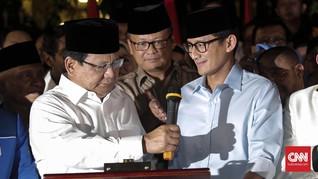 Sama Gaya Busana Deklarasi dan Daftar Prabowo-Sandi