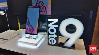Dibanderol Rp18 Juta, Pre-Order Samsung Galaxy Note 9 Ludes