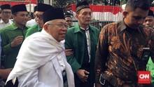 Bertemu Pengurus PKB, Ma'ruf Amin Didoakan Jadi Haji Mabrur