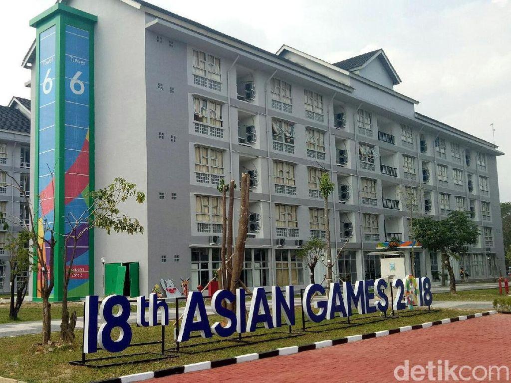 Wisma Atlet Jakabaring Sport City (JSC) siap menampung atlet untuk berlaga di Asian Games 2018.