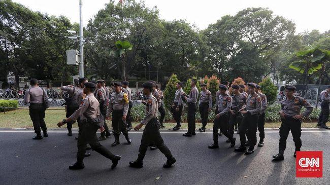 Usai Pendaftaran Capres, Polisi Perketat Pengamanan RSPAD