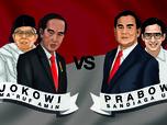 Jokowi Gandeng Ma'ruf Amin, IHSG Naik Tapi Rupiah Loyo