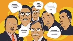 Cuap-cuap Pelaku Ekonomi soal Bursa Capres-Cawapres 2019
