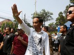Beda Gaya Jokowi dan Prabowo Saat Daftar Capres ke KPU