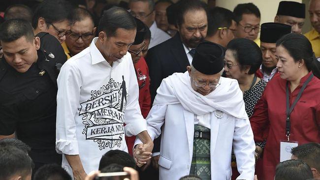 Quick Count Indo Barometer 41,75 Persen: Jokowi 53,6 Persen