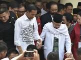Ambil Nomor Urut, Jokowi-Ma'ruf Dikawal Ketum-Sekjen Parpol