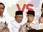 Selisih 10,26 Juta Suara, Jokowi Masih Unggul 56,17%