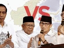 Real Count KPU 09.00 WIB, Jokowi 55,50% & Prabowo 44,50%