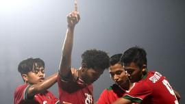 Timnas Indonesia U-19 Menang Tipis atas Persibo