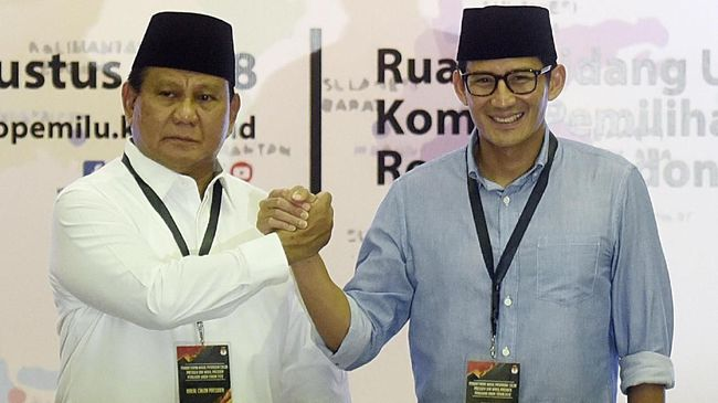 Prabowo-Sandi Tuding Rezim Jokowi Salah Urus Ekonomi