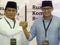 Gaya 'Jenderal' Prabowo dan Cara Sandi 'Merakyat' saat ke KPU