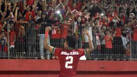 Bagas Kaffa Kangen Tampil Sebagai Striker di Timnas Indonesia