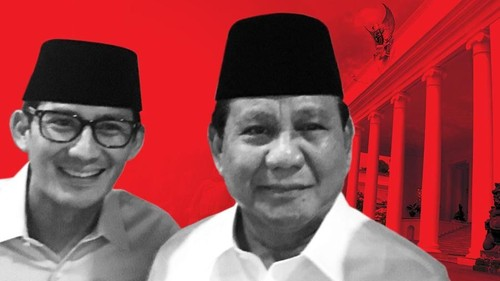 Prabowo-Sandi Maju Pilpres 2019