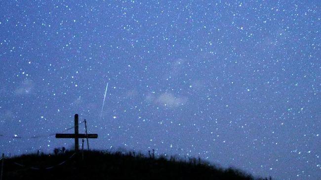 Minggu & Senin Dini Hari, Momen Terbaik Hujan Meteor Perseids