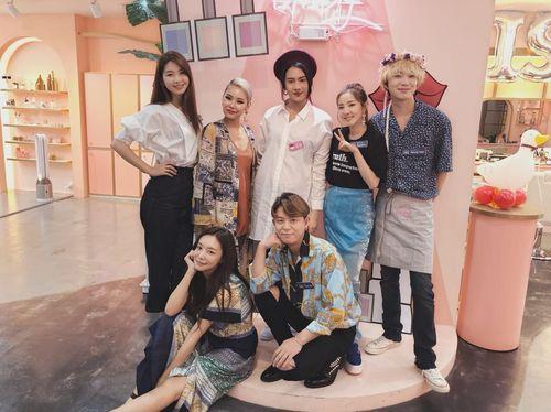 Foto: Anya Geraldine Syuting Varitey Show Korea, Bikin Gemetaran Artis KPop