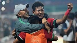 FOTO: Timnas Indonesia U-16 Akhiri Penantian Suporter