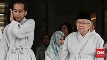 TKN Bantah Elektabilitas Jokowi-Ma'ruf Merosot