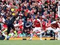 Manchester City Ungguli Arsenal di Babak Pertama