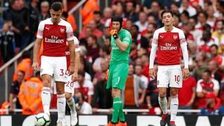 Manchester City Pecundangi Arsenal di Emirates
