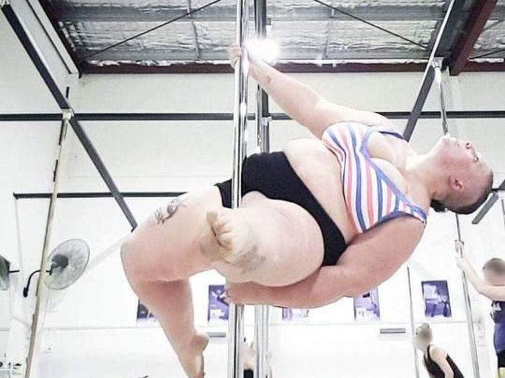 Disebut Babi, Wanita Bertubuh Gemuk Ini Beri Balasan Inspiratif