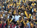 Dubes RI Melepas 150 TKI Korsel Naik Haji