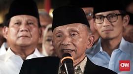 Amien Rais: Prabowo Akan Jadi Presiden Negeri Muslim Terbesar