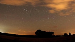 Satelit Jepang Melesat di Luar Angkasa Hasilkan Meteor Buatan