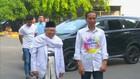 Calon Presiden Petahana Jokowi Lakukan Pemeriksaan Kesehatan