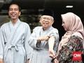Tokoh Nonparpol Inisial M akan Jadi Ketua Tim Kampanye Jokowi