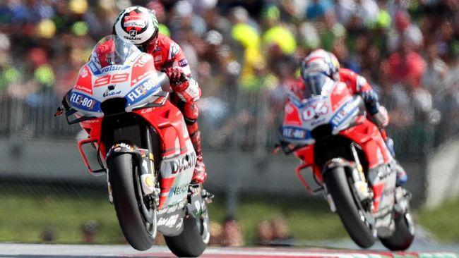 Dovizioso: Lorenzo Rekan Setim yang Aneh di MotoGP
