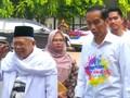 VIDEO: Tes Kesehatan, Jokowi dan Ma'ruf Amin Didampingi Anak