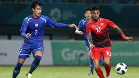 Lilipaly di Babak Grup Asian Games: 3 Gol dan 4 Assist