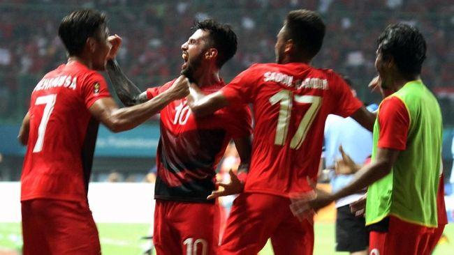 Timnas Indonesia vs Palestina Imbang 1-1 di Babak Pertama
