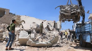 Arab Saudi Kucurkan Bantuan untuk Suriah Rp1,46 Triliun
