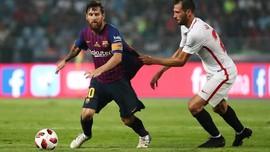 Liga Champions Target Utama Lionel Messi di Barcelona