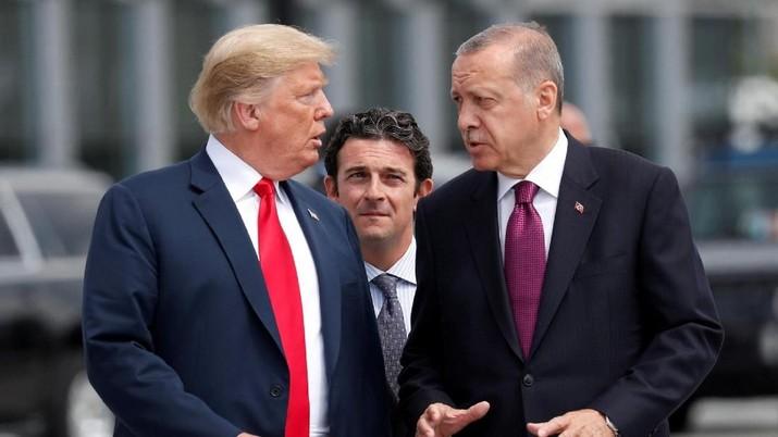Hal tersebut disampaikan Ibrahim Kalin selaku Juru Bicara Presiden Turki Recep Tayyip Erdogan hari Senin (20/8/2018).