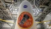 Wahana antariksa Parker Solar Probe milik Lembaga Antariksa Amerika Serikat (NASA) berhasil diluncurkan, kemarin, Minggu (12/8).(Bill Ingalls/NASA via Reuters)