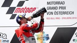 Lorenzo dan Petrucci Bertikai Jelang MotoGP Inggris