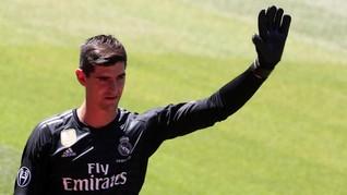 Courtois Pilih Real Madrid karena Anak